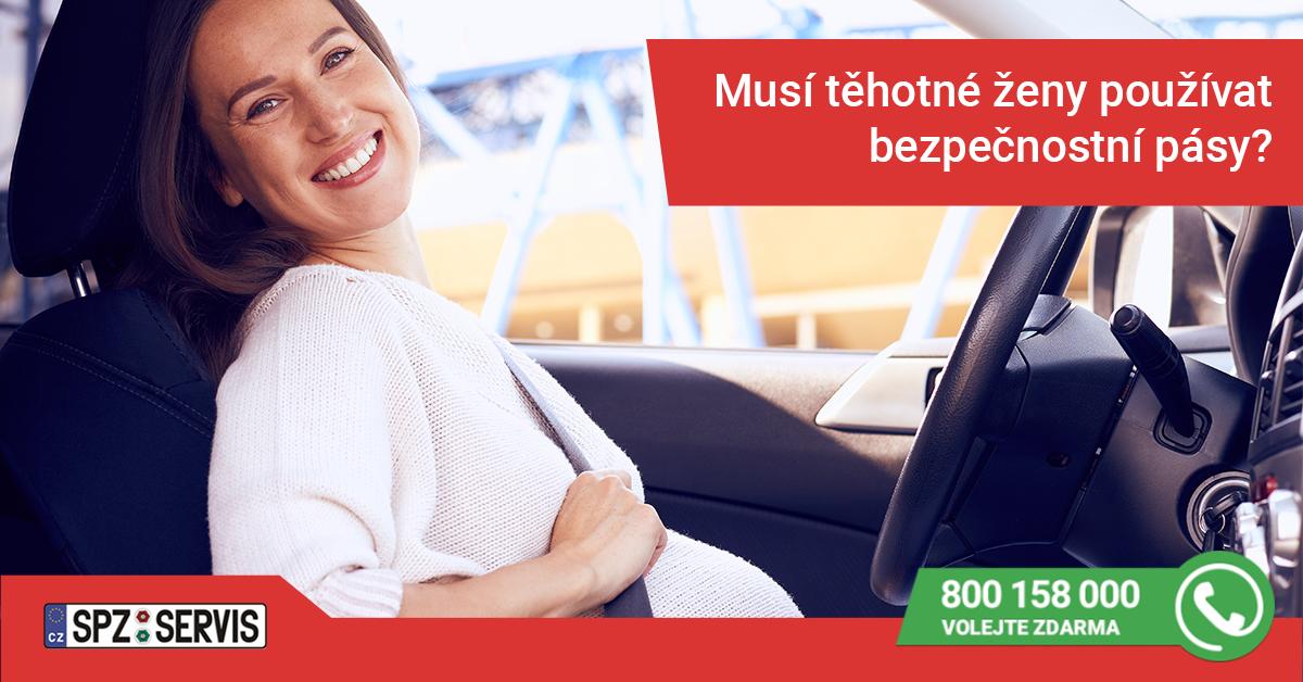 Bezpečnostní pásy v těhotenství