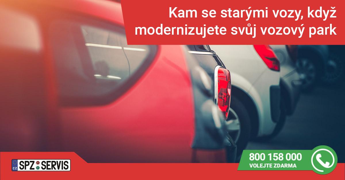 Kam s firemním vozem, když modernizujete vozový park?