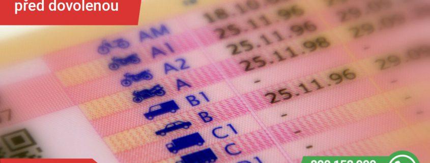 Ztracený řidičský průkaz - SPZ SERVIS