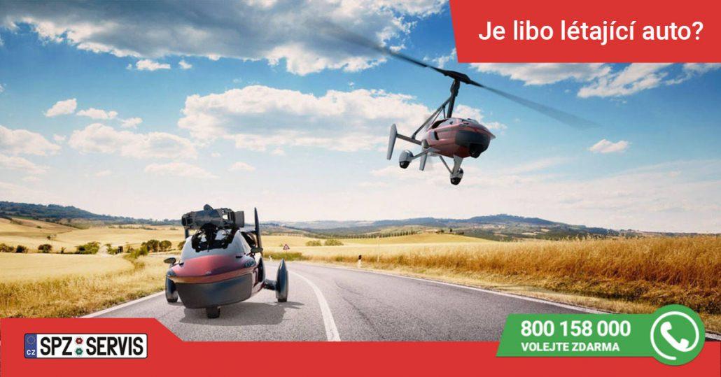 Foto: Létající auto - zdroj https://www.pal-v.com/en/