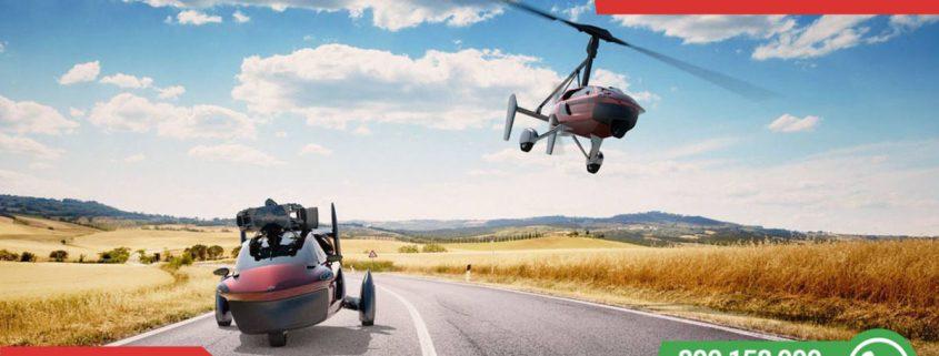 Foto: Létající auto, Zdroj: https://www.pal-v.com/en/