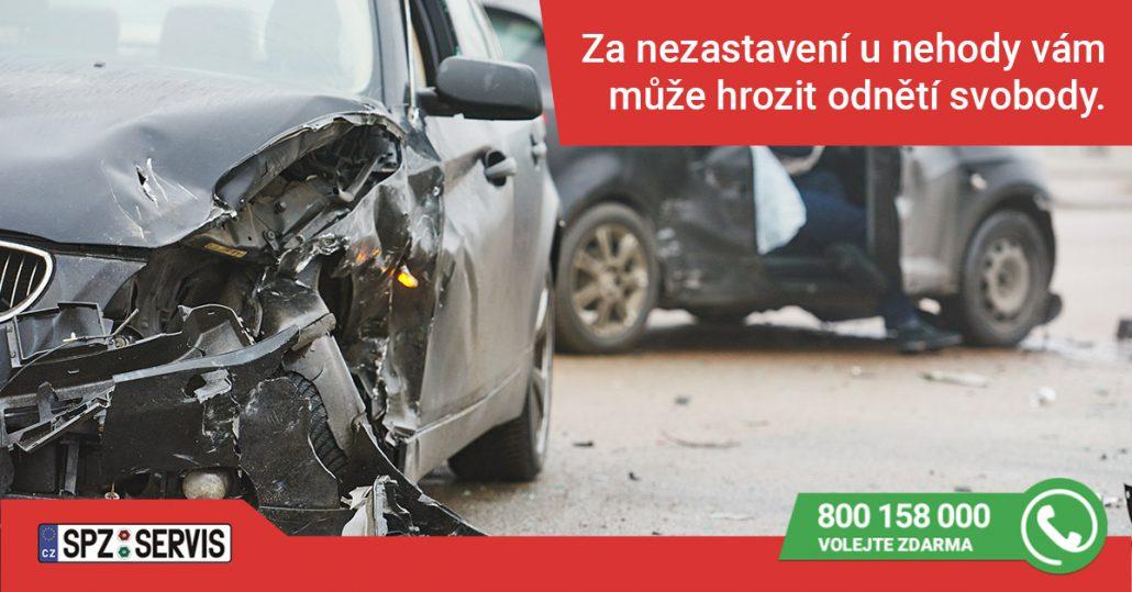 SPZ_dopravní_nehoda