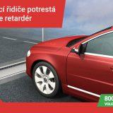 Propadající se retardér proti rychlé jízdě