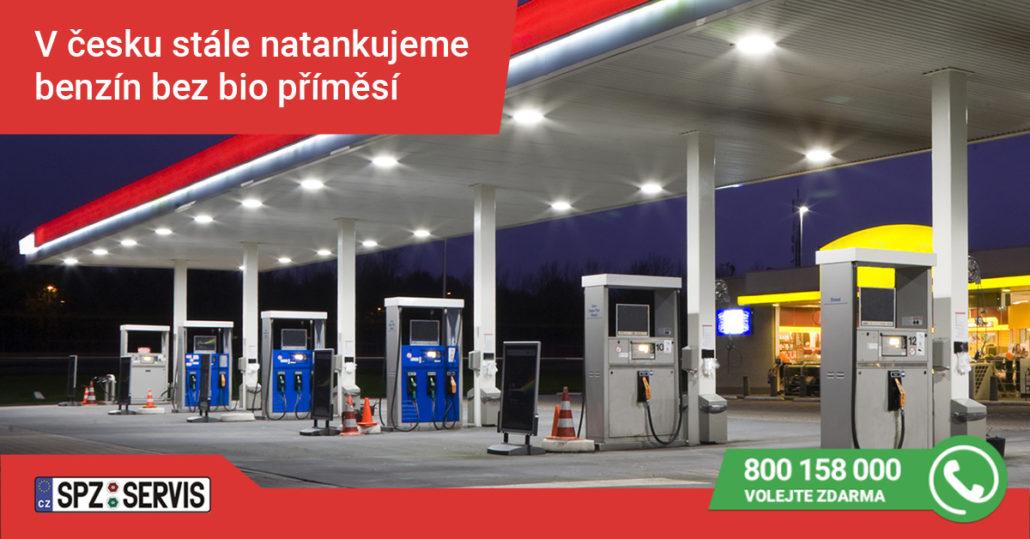 Benzín a biopříměsy