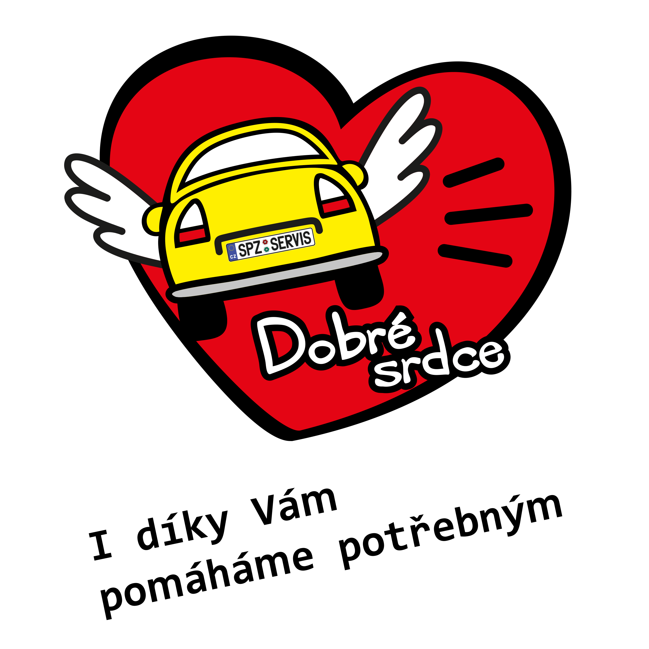 Podporujeme projekt Dobré srdce