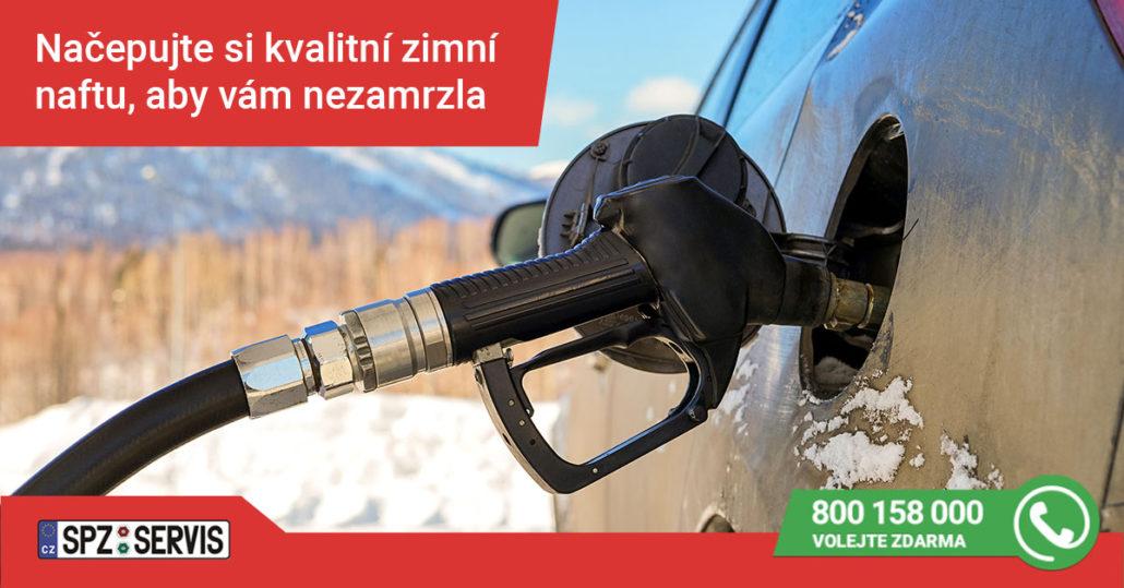 Aby nafta v zimě nezamrzla