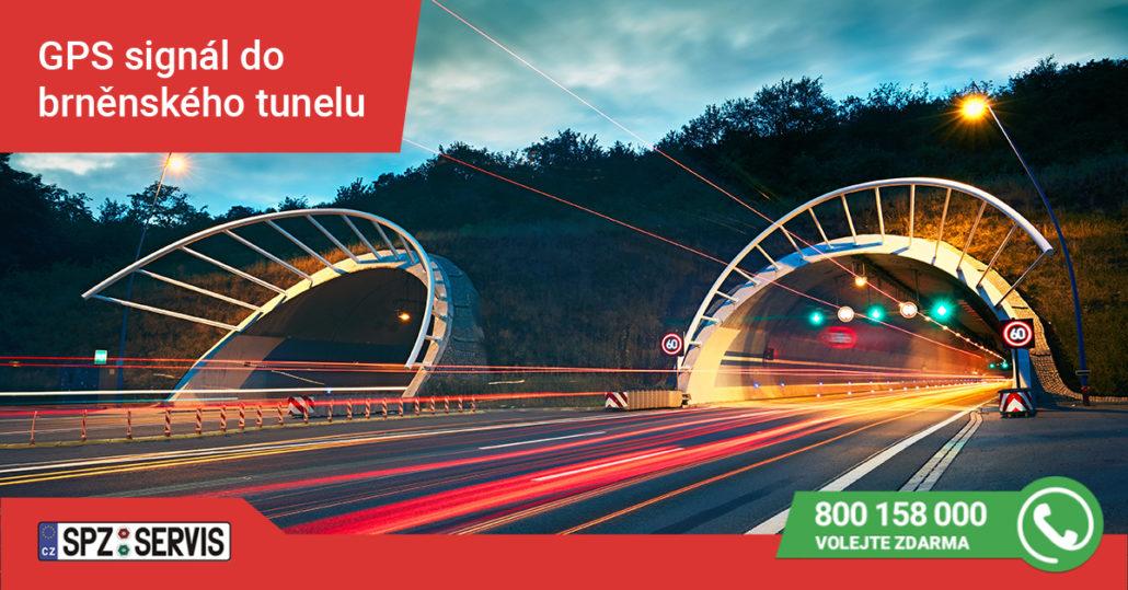 GPS signál do brněnského tunelu