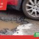 úhrada škody za poškození vozu při najetí do výmolu