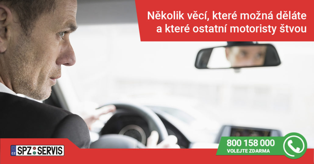 nešvary za volantem - bezdůvodná pomalá jízda