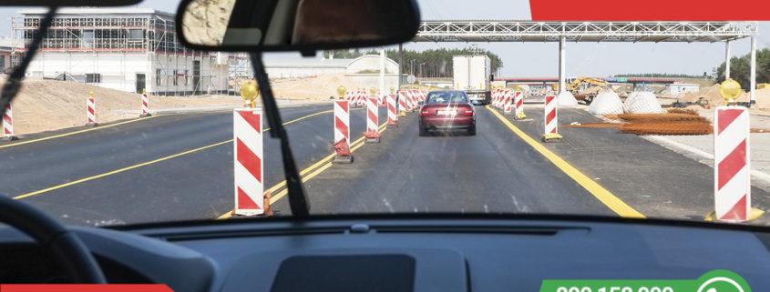Jak se chovat při dálničním zúžení