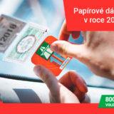od roku 2021 elektronické dálniční známky