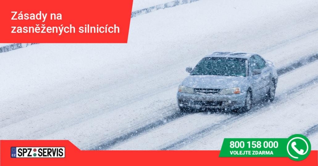 jak bezpečně jezdit v zimě