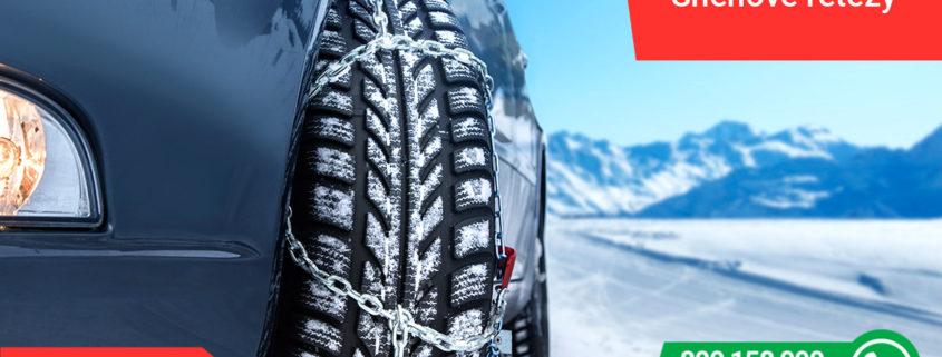 Jak vybrat sněhové řetězy
