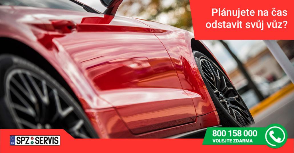 Plánujete na čas odstavit svůj vůz (1)